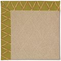 Capel Rugs Creative Concepts Cane Wicker - Bamboo Tea Leaf (236) Runner 2