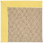 "Capel Rugs Creative Concepts Cane Wicker - Canvas Buttercup (127) Runner 2' 6"" x 12' Area Rug"