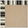 Capel Rugs Creative Concepts Cane Wicker - Down The Lane Ebony (370) Rectangle 3
