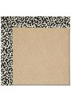 Capel Rugs Creative Concepts Cane Wicker - Coral Cascade Ebony (385) Rectangle 4' x 6' Area Rug