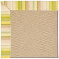 Capel Rugs Creative Concepts Cane Wicker - Kalani Coconut (615) Rectangle 5
