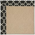Capel Rugs Creative Concepts Cane Wicker - Arden Black (346) Rectangle 7