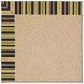 Capel Rugs Creative Concepts Cane Wicker - Vera Cruz Coal (350) Rectangle 7