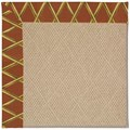 Capel Rugs Creative Concepts Cane Wicker - Bamboo Cinnamon (856) Rectangle 8
