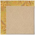 Capel Rugs Creative Concepts Cane Wicker - Cayo Vista Tea Leaf (210) Rectangle 8