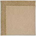 Capel Rugs Creative Concepts Cane Wicker - Tampico Rattan (716) Rectangle 8