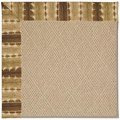 Capel Rugs Creative Concepts Cane Wicker - Java Journey Chestnut (750) Rectangle 9
