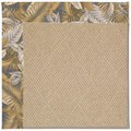 Capel Rugs Creative Concepts Cane Wicker - Bahamian Breeze Ocean (420) Rectangle 10