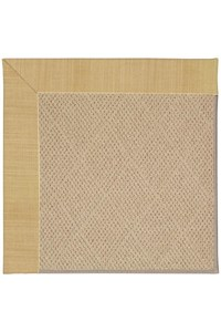 Capel Rugs Creative Concepts Cane Wicker - Dupione Bamboo (100) Rectangle 12' x 15' Area Rug