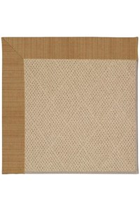 Capel Rugs Creative Concepts Cane Wicker - Dupione Caramel (150) Rectangle 12' x 15' Area Rug