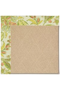 Capel Rugs Creative Concepts Cane Wicker - Cayo Vista Mojito (215) Rectangle 12' x 15' Area Rug