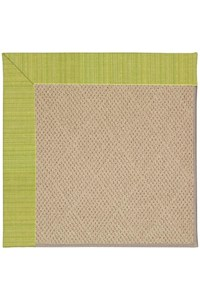 Capel Rugs Creative Concepts Cane Wicker - Vierra Kiwi (228) Rectangle 12' x 15' Area Rug