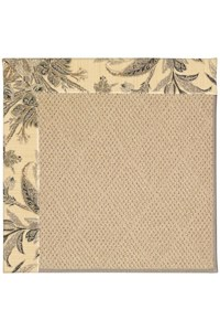 Capel Rugs Creative Concepts Cane Wicker - Cayo Vista Graphic (315) Rectangle 12' x 15' Area Rug