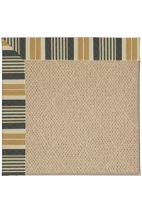 Capel Rugs Creative Concepts Cane Wicker - Long Hill Ebony (340) Rectangle 12' x 15' Area Rug