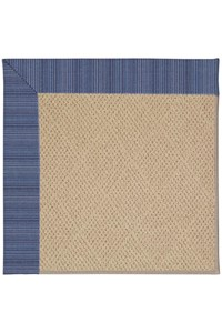 Capel Rugs Creative Concepts Cane Wicker - Vierra Navy (455) Rectangle 12' x 15' Area Rug