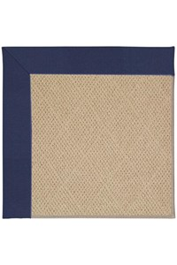 Capel Rugs Creative Concepts Cane Wicker - Canvas Royal Navy (467) Rectangle 12' x 15' Area Rug