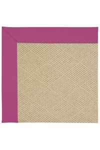 Capel Rugs Creative Concepts Cane Wicker - Canvas Hot Pink (515) Rectangle 12' x 15' Area Rug