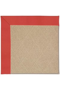 Capel Rugs Creative Concepts Cane Wicker - Canvas Paprika (517) Rectangle 12' x 15' Area Rug