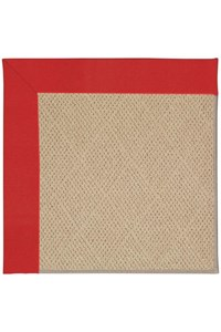 Capel Rugs Creative Concepts Cane Wicker - Canvas Jockey Red (527) Rectangle 12' x 15' Area Rug