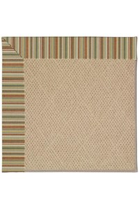 Capel Rugs Creative Concepts Cane Wicker - Dorsett Autumn (714) Rectangle 12' x 15' Area Rug