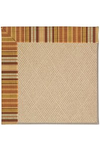 Capel Rugs Creative Concepts Cane Wicker - Vera Cruz Samba (735) Rectangle 12' x 15' Area Rug