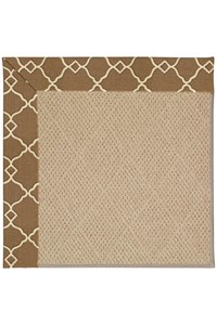 Capel Rugs Creative Concepts Cane Wicker - Arden Chocolate (746) Rectangle 12' x 15' Area Rug