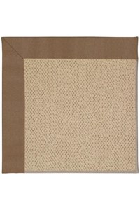 Capel Rugs Creative Concepts Cane Wicker - Canvas Cocoa (747) Rectangle 12' x 15' Area Rug