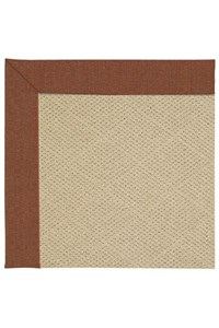 Capel Rugs Creative Concepts Cane Wicker - Linen Chili (845) Rectangle 12' x 15' Area Rug