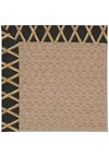 Capel Rugs Creative Concepts Grassy Mountain - Bamboo Coal (356) Octagon 4' x 4' Area Rug