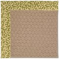 Capel Rugs Creative Concepts Grassy Mountain - Coral Cascade Avocado (225) Octagon 6