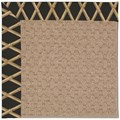 Capel Rugs Creative Concepts Grassy Mountain - Bamboo Coal (356) Octagon 6