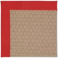 Capel Rugs Creative Concepts Grassy Mountain - Canvas Jockey Red (527) Octagon 6