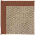 Capel Rugs Creative Concepts Grassy Mountain - Linen Chili (845) Octagon 6