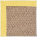 Capel Rugs Creative Concepts Grassy Mountain - Canvas Buttercup (127) Octagon 8' x 8' Area Rug