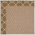 Capel Rugs Creative Concepts Grassy Mountain - Arden Chocolate (746) Octagon 8
