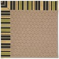 Capel Rugs Creative Concepts Grassy Mountain - Vera Cruz Coal (350) Octagon 10