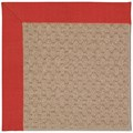 Capel Rugs Creative Concepts Grassy Mountain - Dupione Crimson (575) Rectangle 8