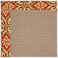 Capel Rugs Creative Concepts Grassy Mountain - Shoreham Brick (800) Rectangle 8