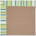 Capel Rugs Creative Concepts Grassy Mountain - Capri Stripe Breeze (430) Rectangle 8