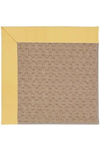 Capel Rugs Creative Concepts Grassy Mountain - Canvas Canary (137) Rectangle 12' x 15' Area Rug
