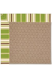 Capel Rugs Creative Concepts Grassy Mountain - Tux Stripe Green (214) Rectangle 12' x 15' Area Rug