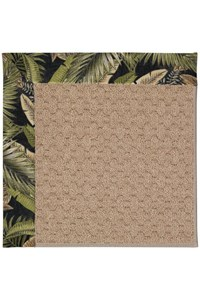 Capel Rugs Creative Concepts Grassy Mountain - Bahamian Breeze Coal (325) Rectangle 12' x 15' Area Rug
