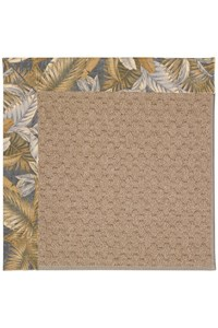 Capel Rugs Creative Concepts Grassy Mountain - Bahamian Breeze Ocean (420) Rectangle 12' x 15' Area Rug