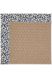 Capel Rugs Creative Concepts Grassy Mountain - Coral Cascade Navy (450) Rectangle 12' x 15' Area Rug
