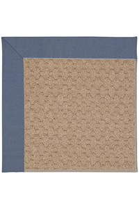 Capel Rugs Creative Concepts Grassy Mountain - Canvas Sapphire Blue (487) Rectangle 12' x 15' Area Rug