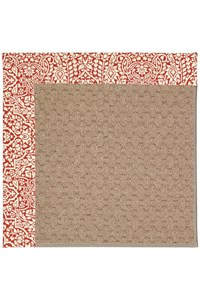 Capel Rugs Creative Concepts Grassy Mountain - Imogen Cherry (520) Rectangle 12' x 15' Area Rug