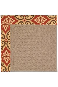 Capel Rugs Creative Concepts Grassy Mountain - Shoreham Brick (800) Rectangle 12' x 15' Area Rug