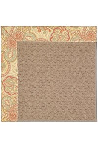 Capel Rugs Creative Concepts Grassy Mountain - Paddock Shawl Persimmon (810) Rectangle 12' x 15' Area Rug