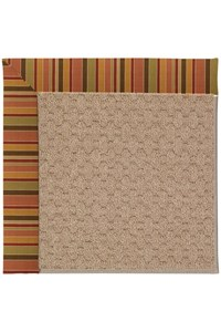 Capel Rugs Creative Concepts Grassy Mountain - Tuscan Stripe Adobe (825) Rectangle 12' x 15' Area Rug
