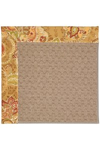 Capel Rugs Creative Concepts Grassy Mountain - Tuscan Vine Adobe (830) Rectangle 12' x 15' Area Rug